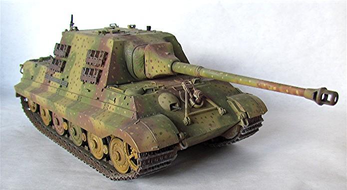 Projet Jagdtiger (x4) 1/35 01010