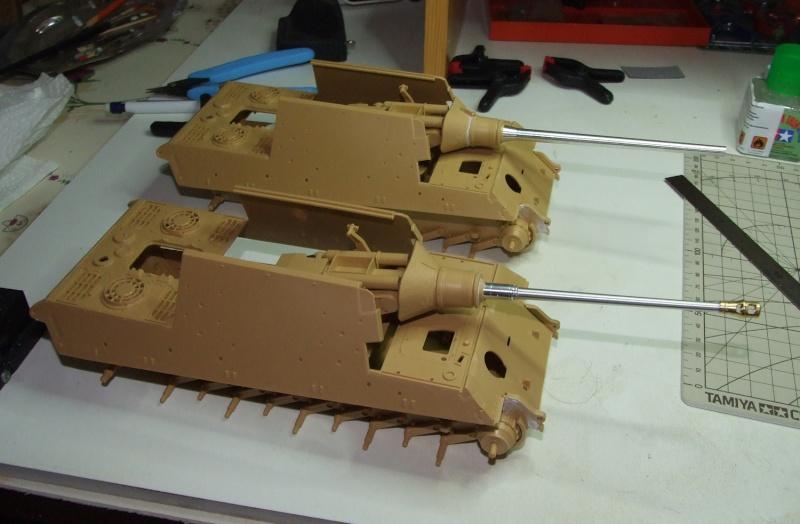 Projet Jagdtiger (x4) 1/35 1510
