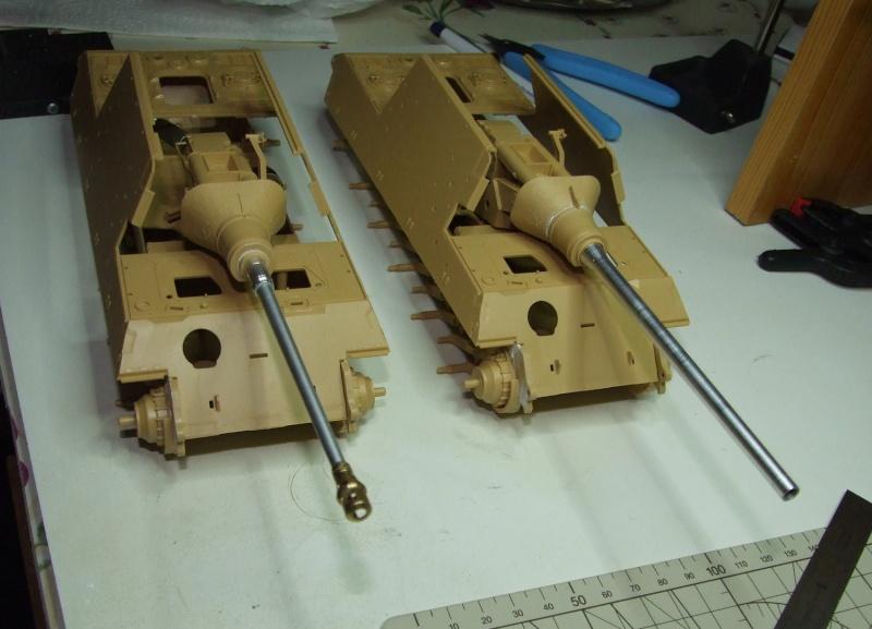 Projet Jagdtiger (x4) 1/35 1610