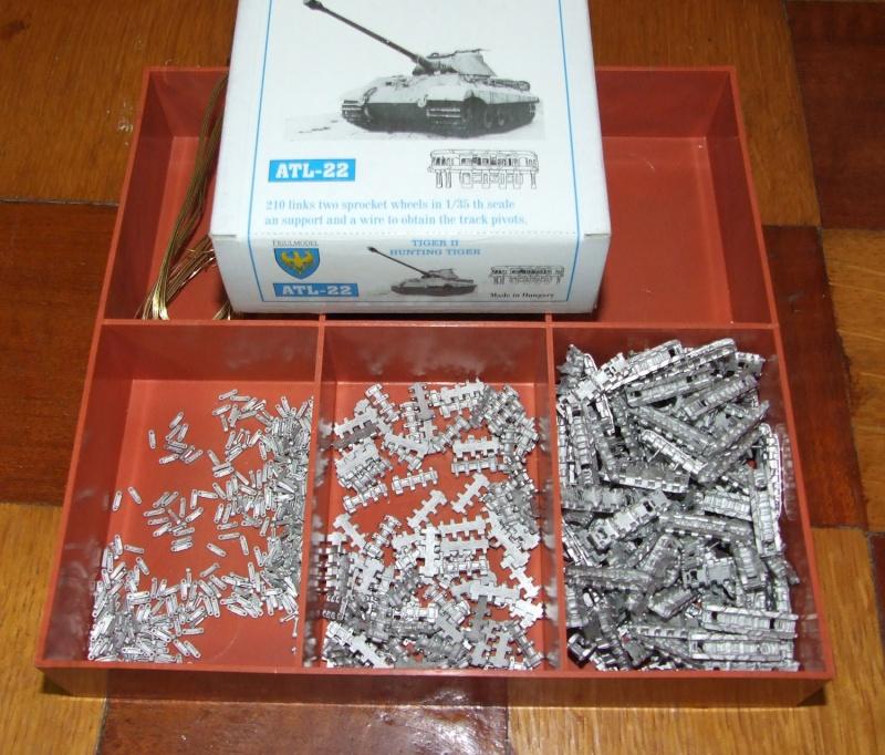 Projet Jagdtiger (x4) 1/35 2310