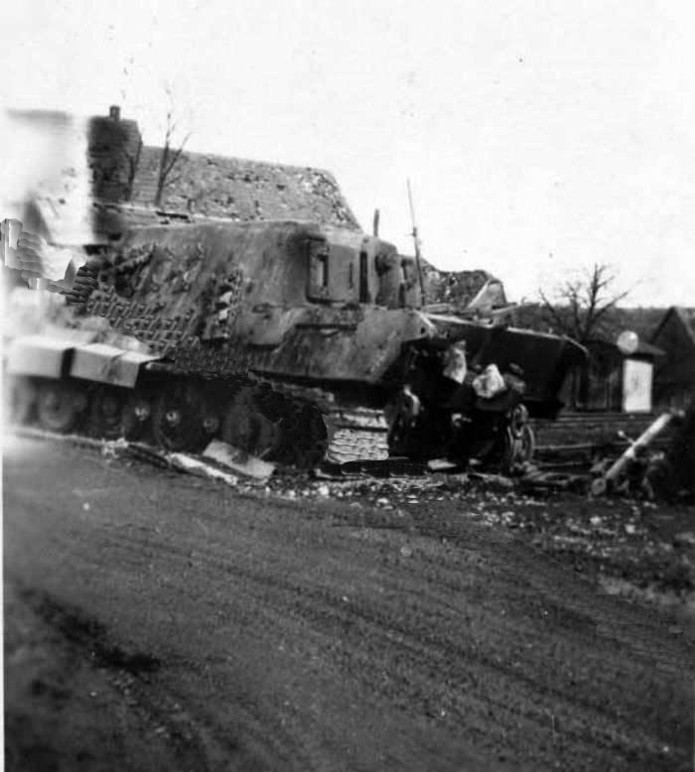 Projet Jagdtiger (x4) 1/35 234-210