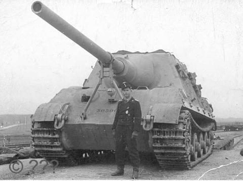 Projet Jagdtiger (x4) 1/35 30500910
