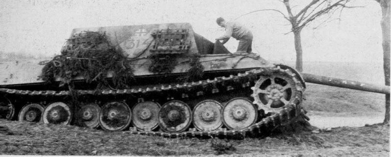 Projet Jagdtiger (x4) 1/35 314-111
