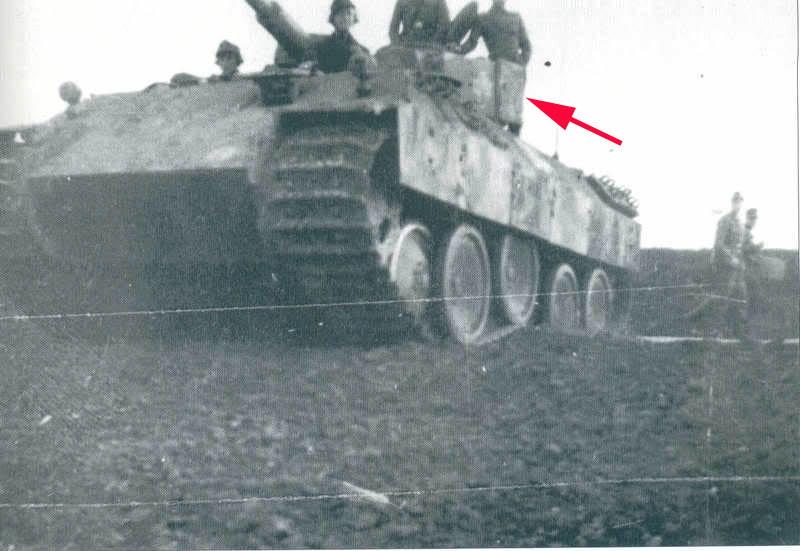 panzer - BergePanther + Tourelle Panzer IV ausf H 6xsxmu10