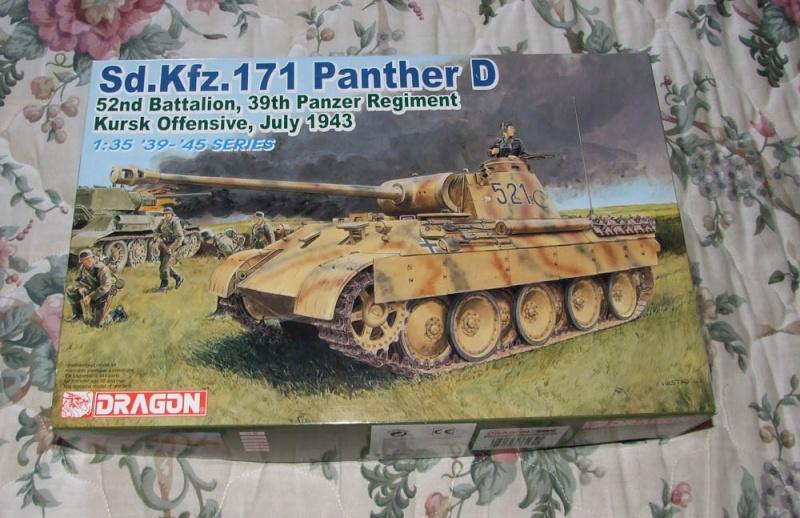 panzer - BergePanther + Tourelle Panzer IV ausf H Dscf5010