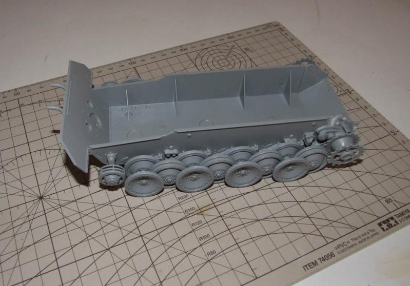 panzer - BergePanther + Tourelle Panzer IV ausf H Dscf5019