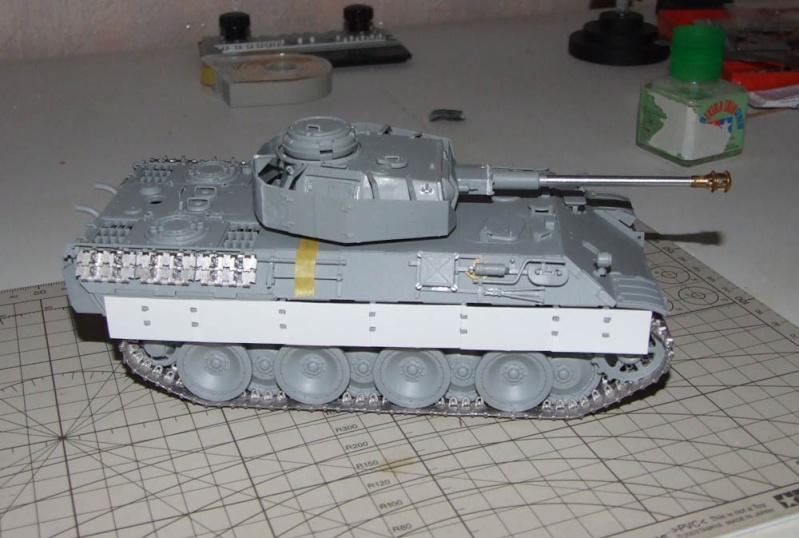 panzer - BergePanther + Tourelle Panzer IV ausf H Dscf5025
