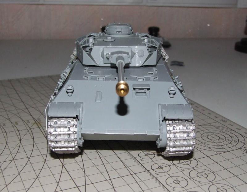 panzer - BergePanther + Tourelle Panzer IV ausf H Dscf5026