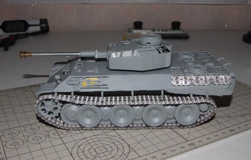 panzer - BergePanther + Tourelle Panzer IV ausf H Dscf5027
