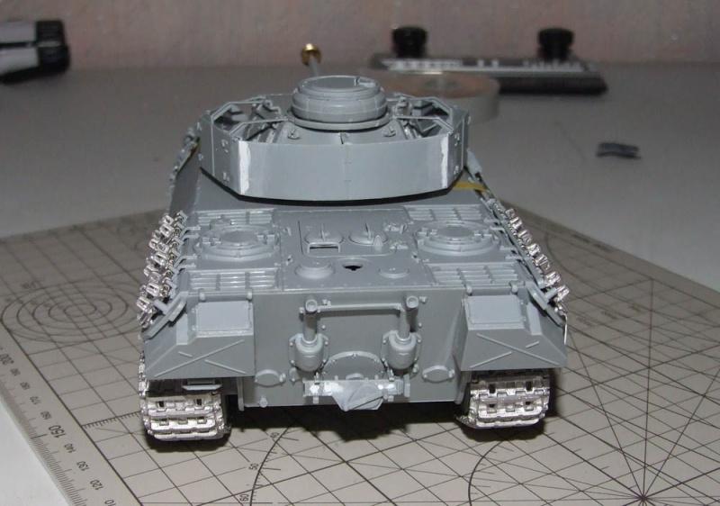 panzer - BergePanther + Tourelle Panzer IV ausf H Dscf5028