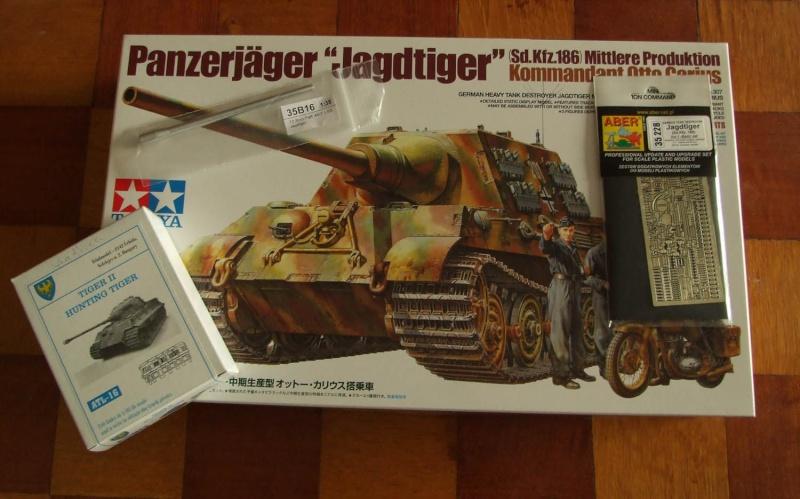 Projet Jagdtiger (x4) 1/35 Dscf5123