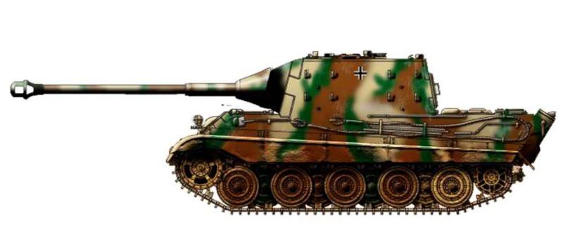 Projet Jagdtiger (x4) 1/35 P110