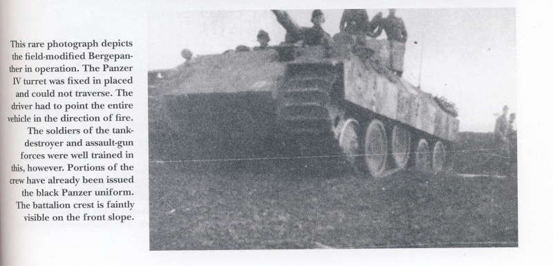 panzer - BergePanther + Tourelle Panzer IV ausf H Sans_t11