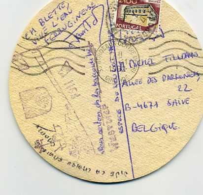 SOUVENIRS,cartes postales, badges, etc...hum hum Souven17