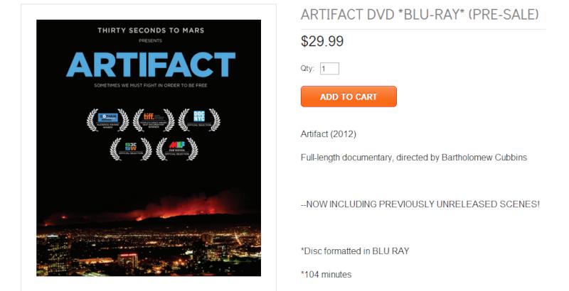 VyRT ARTIFACT le 31 août 2013  & ARTIFACT en DVD - Page 7 Sans_t13