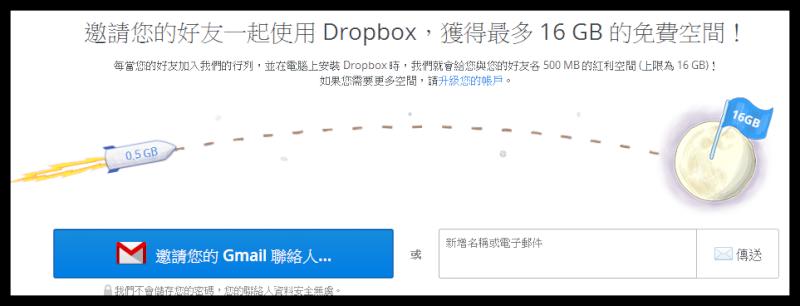 「教學」Dropbox運用:申請安裝2GB免費網路硬碟空間(一) 01110