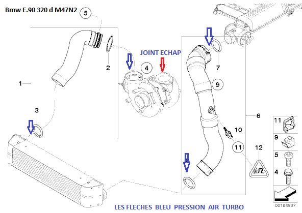 [ BMW E90 320d an 2006 ] Léger sifflement à froid avec nouveau turbo, est-ce normal? 11_e9010