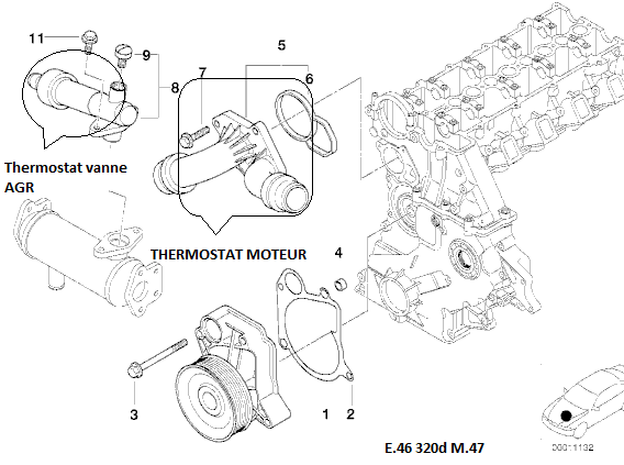 bmw e46 320d m47 an 2000   probl u00e8me de ralenti instable    trous d u0026 39 acceleration