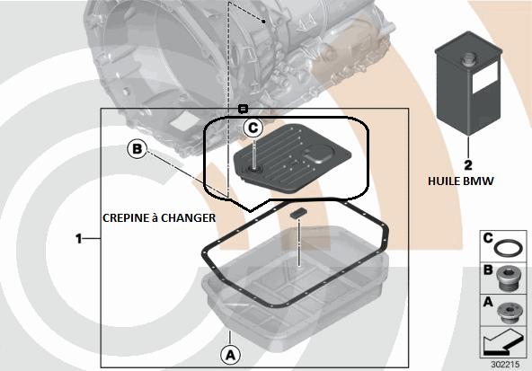 [ BMW e39 530d an 2001 ] Programme sécurité Boîte des vitesses 24_e_311