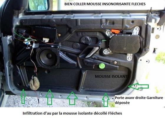 [ BMW X3 E83 LCI 35D an 2009 ] Buée/eau Interieur Parebrise 41_gar13