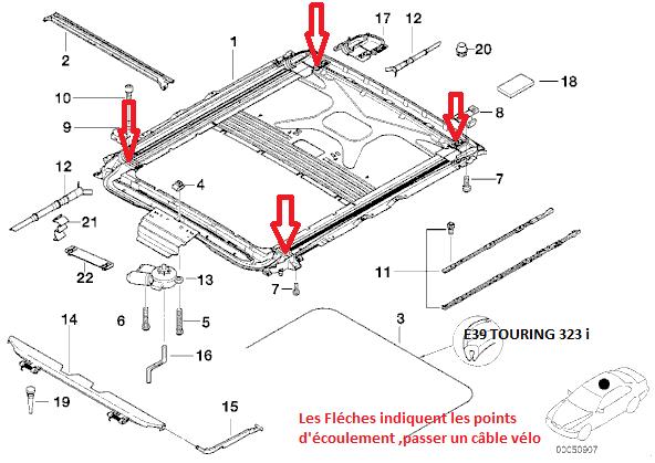 bmw e39 523i an 1997 entr es d 39 eau toit ouvrant et. Black Bedroom Furniture Sets. Home Design Ideas