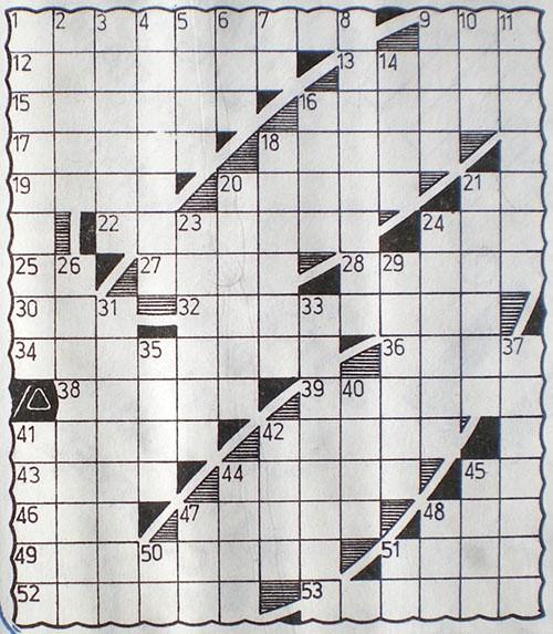 Графики на класически кръстословици Rusif10