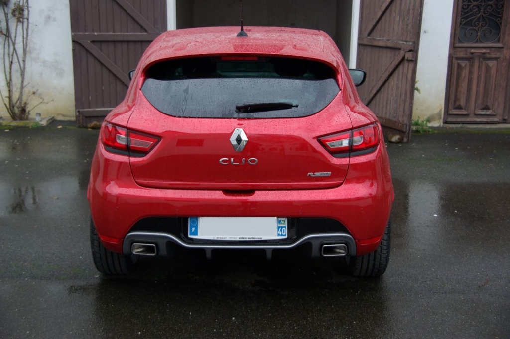 Ma Clio 4 RS Rouge flamme Imgp3110