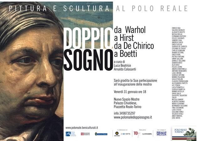 NUNZIANTE alla mostra DOPPIO SOGNO - da Warhol a Hirst da De Chirico a Boetti Cid_cf10