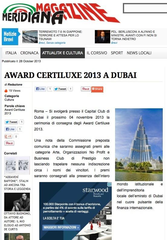 NUNZIANTE al Capital Club DUBAI, 4 Novembre-4 Dicembre 2013 - Pagina 4 Cid_d110
