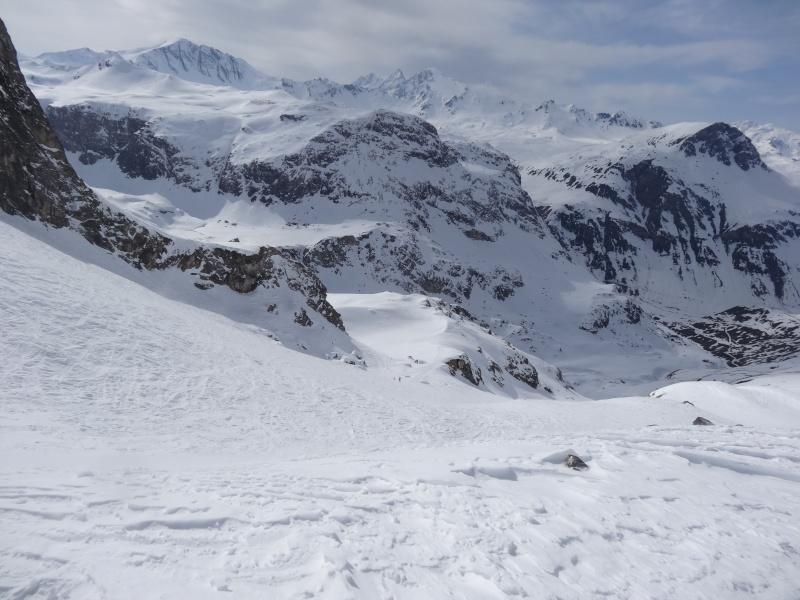 Fond des Fours -> Col de l'Iseran en traversée Dsc01212