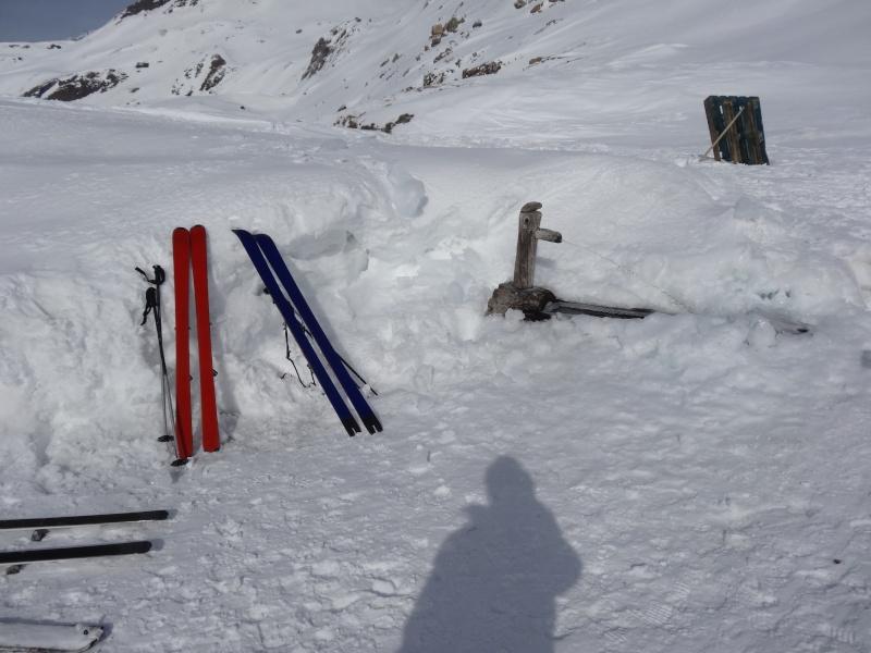 Fond des Fours -> Col de l'Iseran en traversée Dsc01217