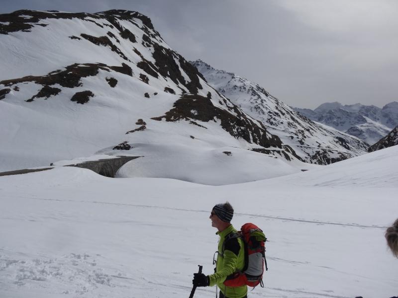 Fond des Fours -> Col de l'Iseran en traversée Dsc01226