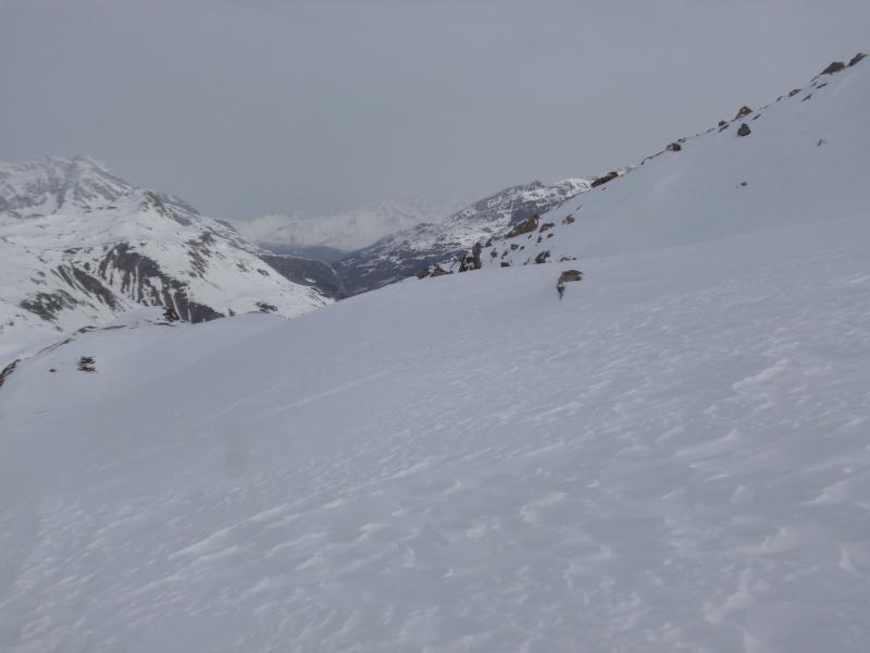 Fond des Fours -> Col de l'Iseran en traversée P1030912