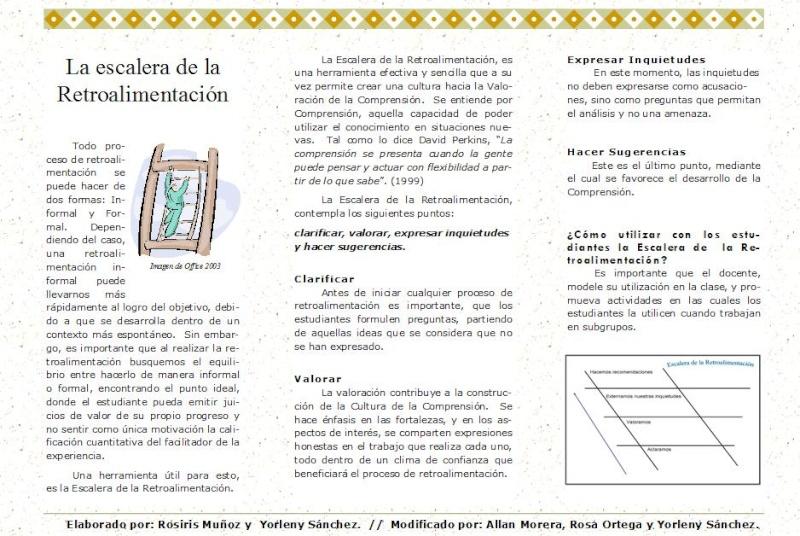 Nuestro Proyecto: I Taller (propuesta) Escale10