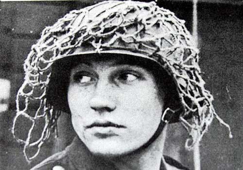 Filet de casque de l'armée allemande 31127110