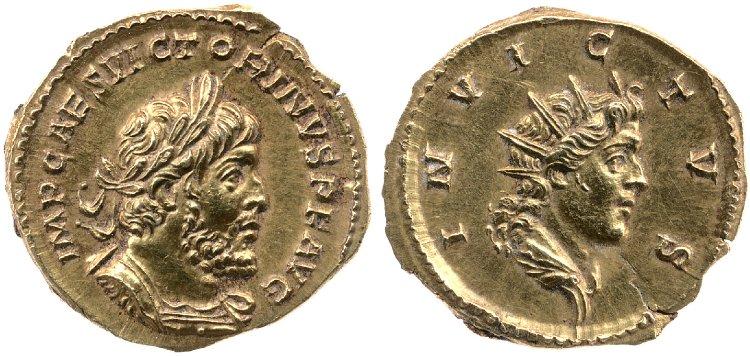 Le monnayage d'or de Victorin Britis10