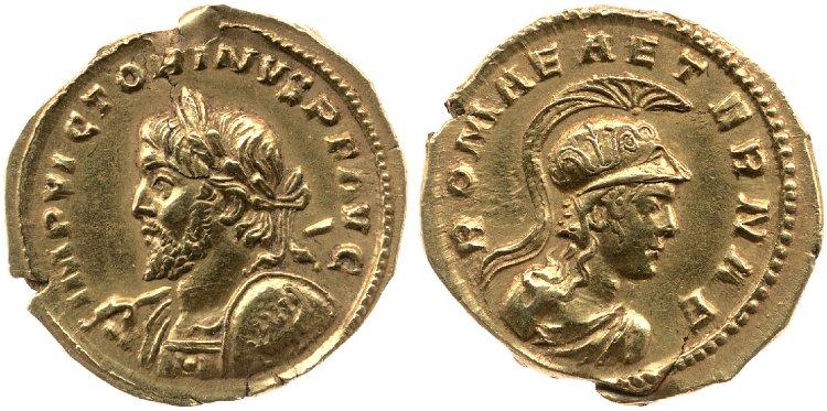 Le monnayage d'or de Victorin Britis12