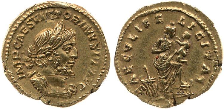Le monnayage d'or de Victorin Britis13