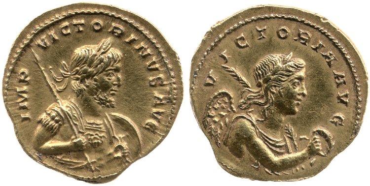 Le monnayage d'or de Victorin Britis14