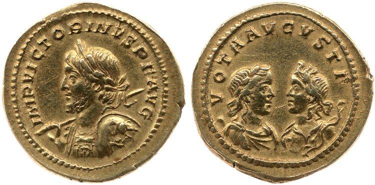 Le monnayage d'or de Victorin Britis15
