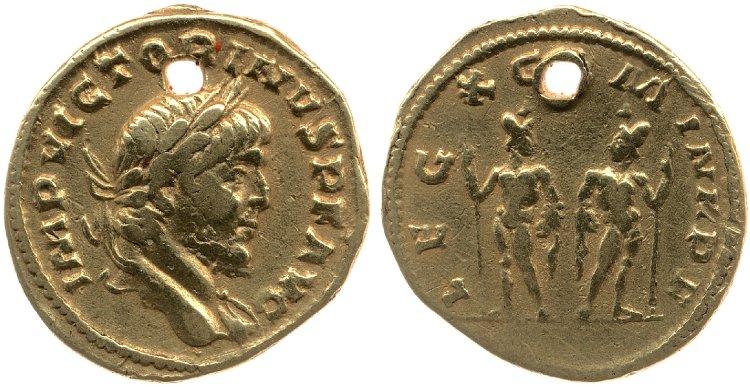 Le monnayage d'or de Victorin Britis18