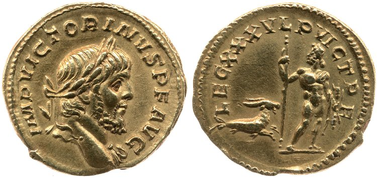 Le monnayage d'or de Victorin Britis20