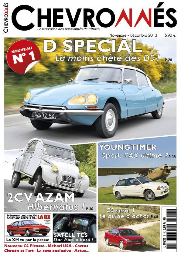 [PRESSE] Nouvelle revue dédiée à Citroën - Chevronnés 13958710