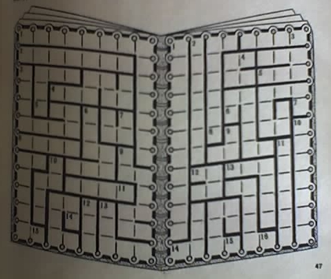 Графики на класически кръстословици Bojmit11