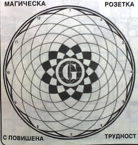 Графики на класически кръстословици Nedelc10