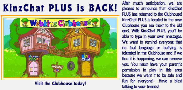 Clubhouse Still not Working for Everyone! Kinzch10