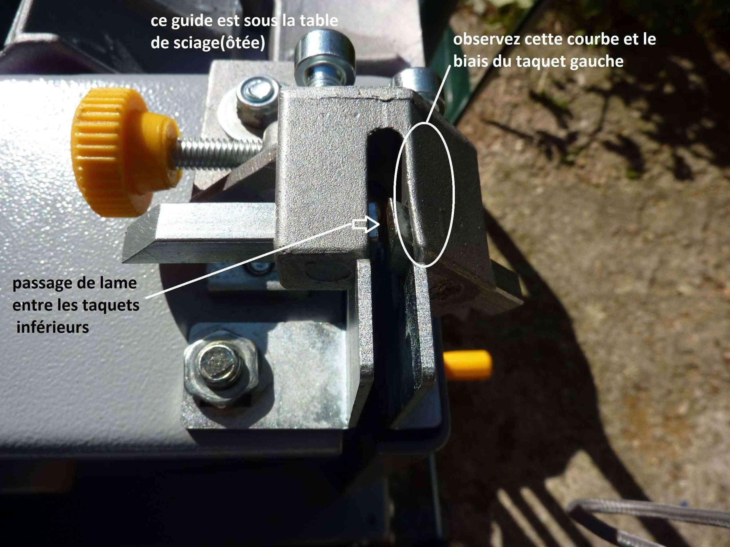 MA présentation de la scie à ruban Peugeot Energy band 160 à 279€ 2_guid10