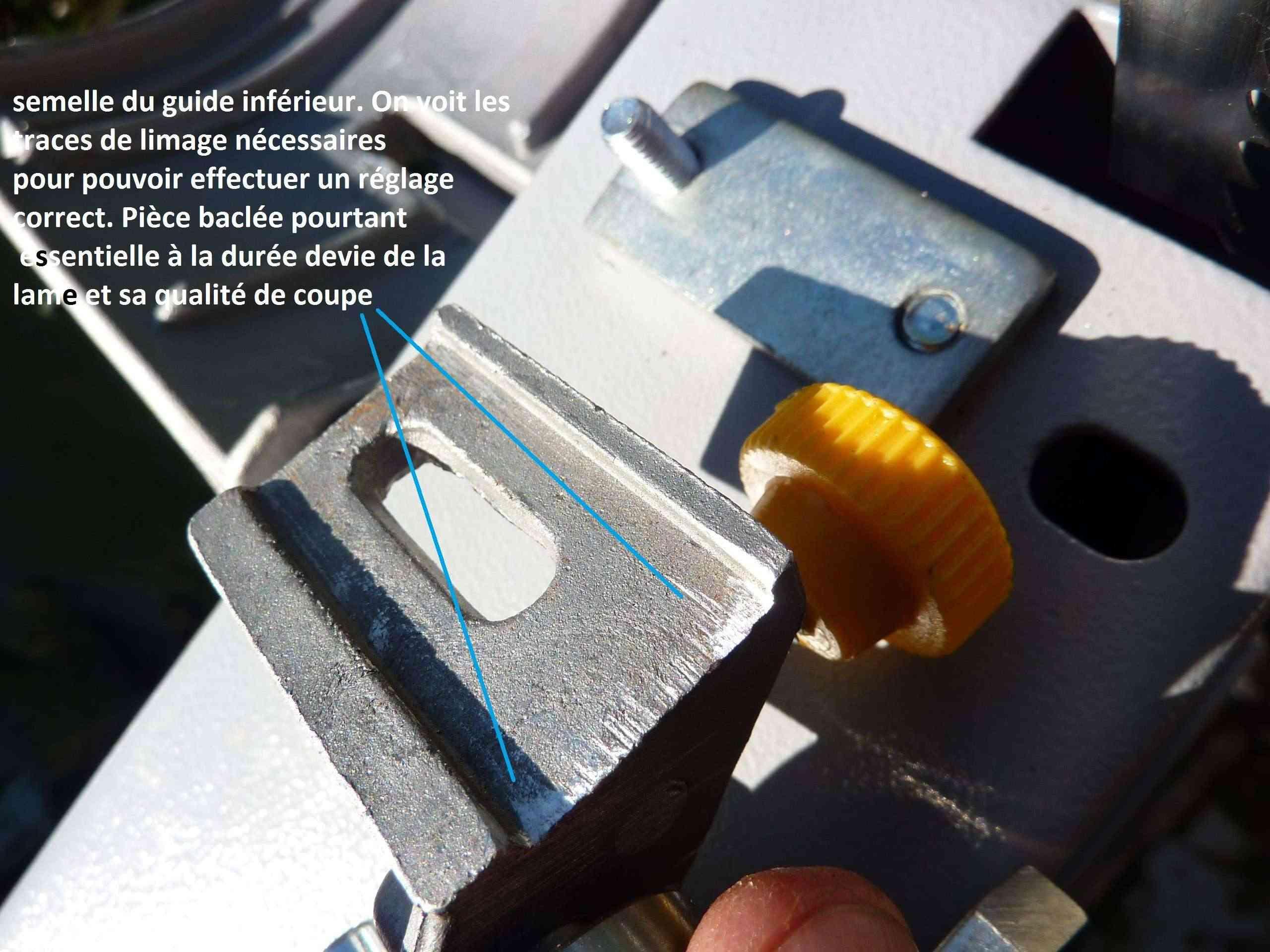 MA présentation de la scie à ruban Peugeot Energy band 160 à 279€ 5_1_gu10