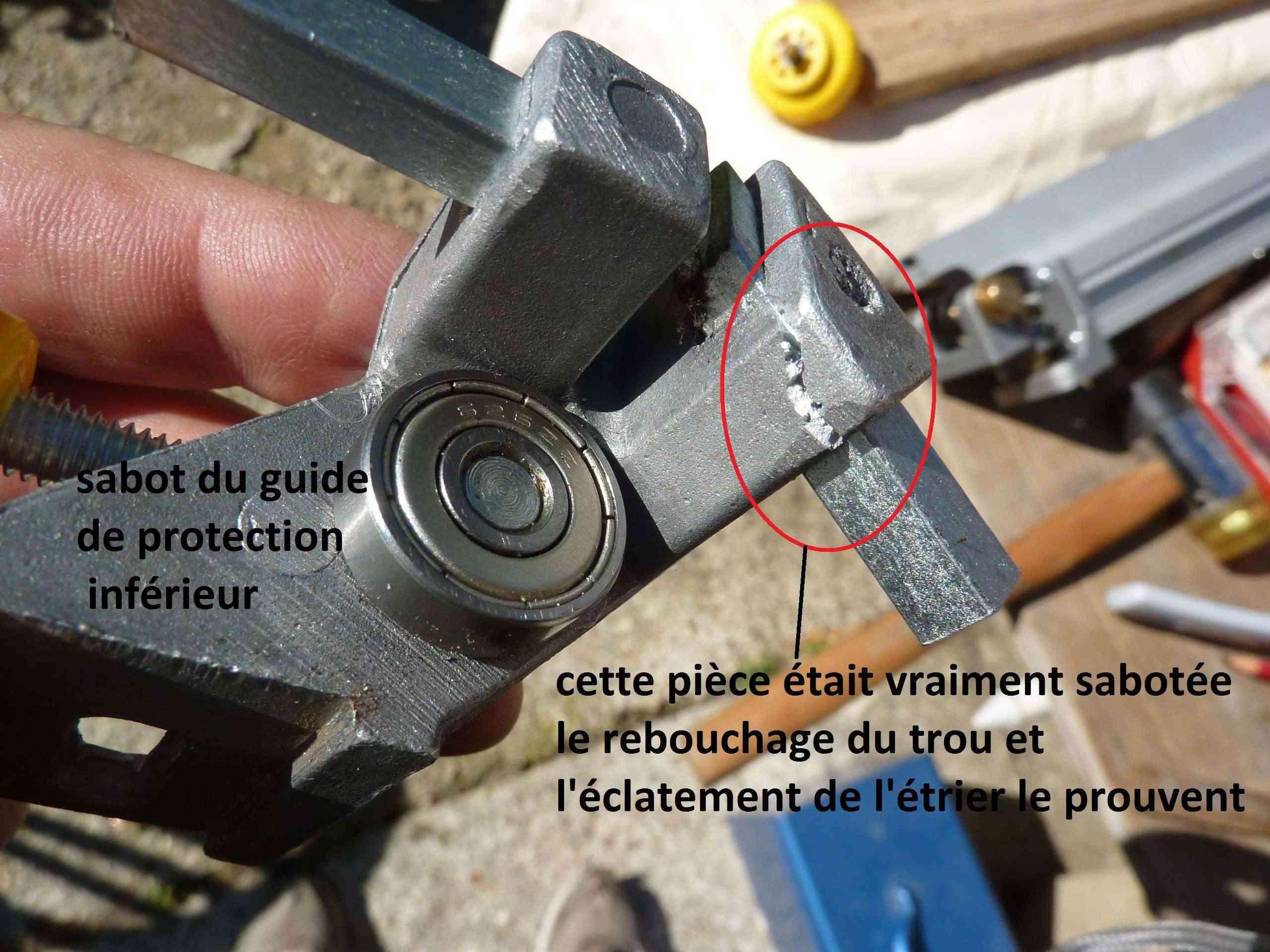 MA présentation de la scie à ruban Peugeot Energy band 160 à 279€ 5_guid10