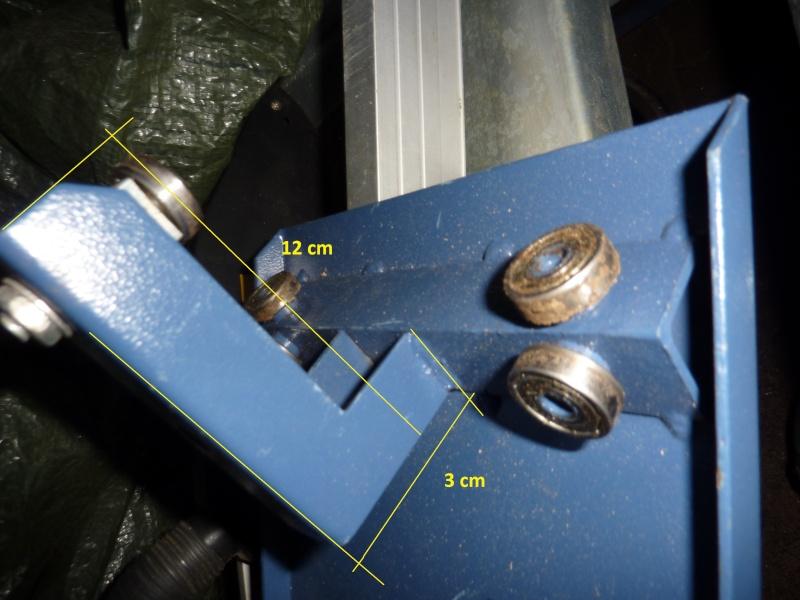 Photos detaillées du bras articulé/chariot/guide parallèle de ma scie circulaire kity 415 P1010514